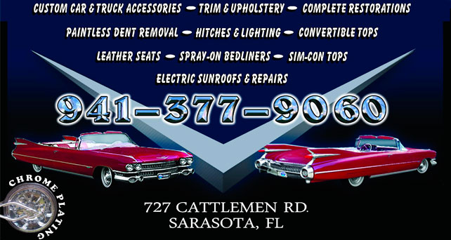 Interstate Customs of Sarasota, Florida custom car and truck accessories